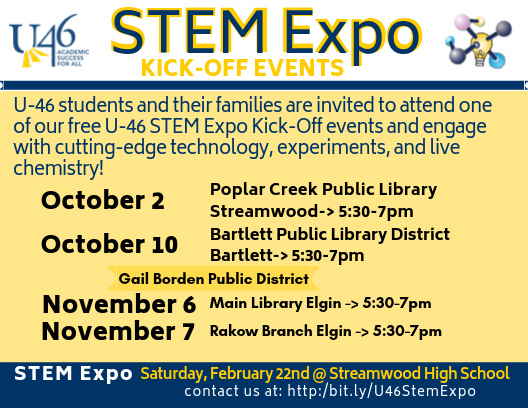 STEM Expo Kick Off Events